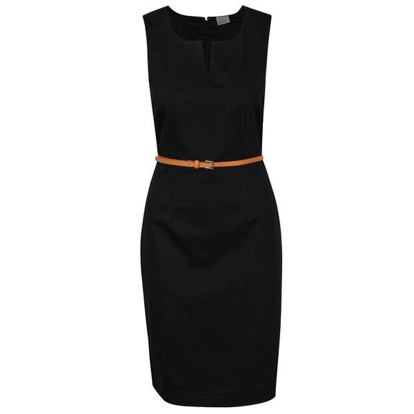 Rochie neagră fără mâneci VERO MODA Pekaya