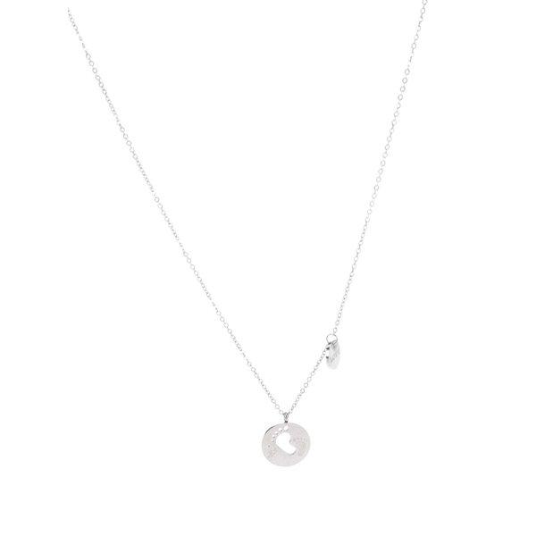Colier argintiu cu pandantiv cu decupaj Mariesy de la Mariesy in categoria Ceasuri și bijuterii