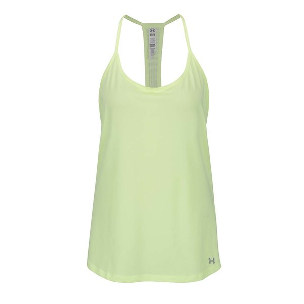 Top sport galben Under Armour Fly By Racerback pentru femei de la Under Armour in categoria maiouri