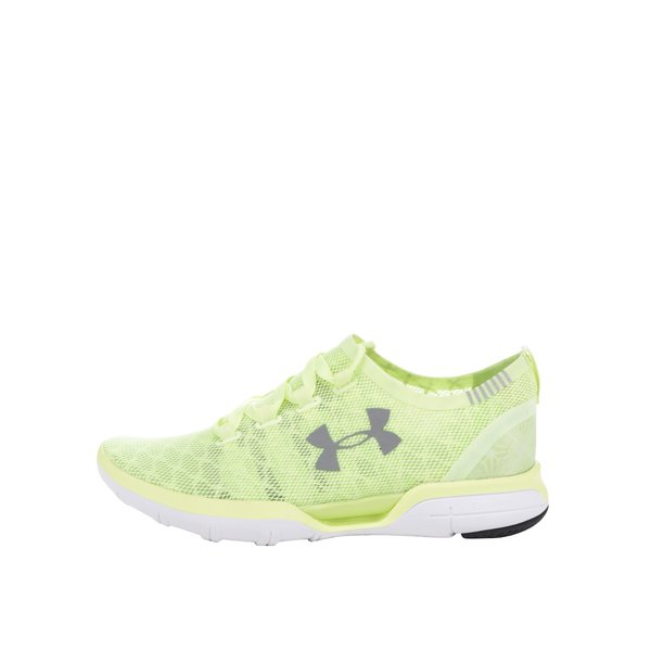 Pantofi sport galbeni de alergat pentru femei Under Armour UA W Charged CoolSwitch Run