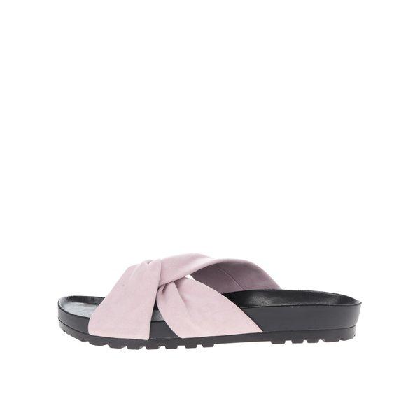 Papuci flip-flop roz pal Vagabond Erie din piele de la Vagabond in categoria șlapin