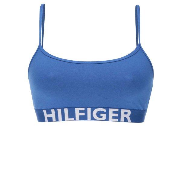 Bustiera albastra cu print logo Tommy Hilfiger de la Tommy Hilfiger in categoria Lenjerie intimă, pijamale, costume de baie