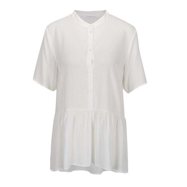 Bluză crem Jacqueline de Yong Safira cu guler rotund de la Jacqueline de Yong in categoria Topuri, tricouri, body-uri
