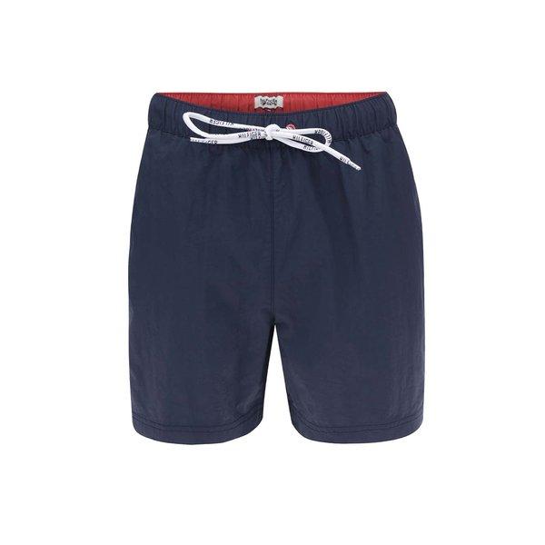 Bermude de baie albastru cu detaliu rosu Tommy Hilfiger de la Tommy Hilfiger in categoria Lenjerie intimă, pijamale, șorturi de baie