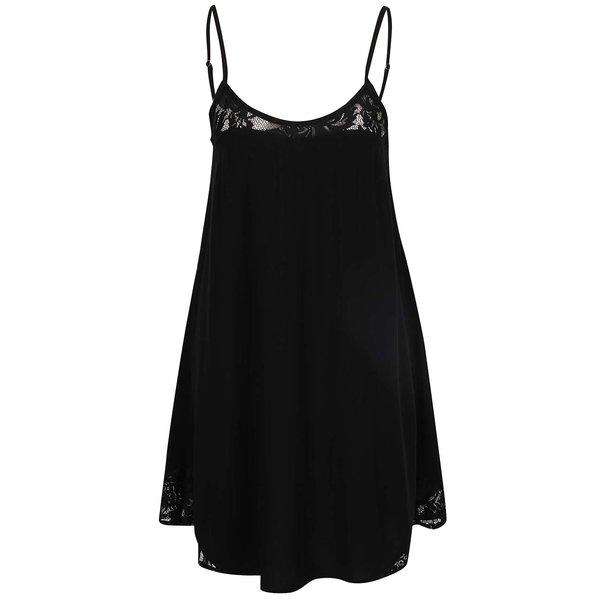 Rochie neagră ONLY Piper cu detalii din dantelă de la ONLY in categoria rochii de vară și de plajă