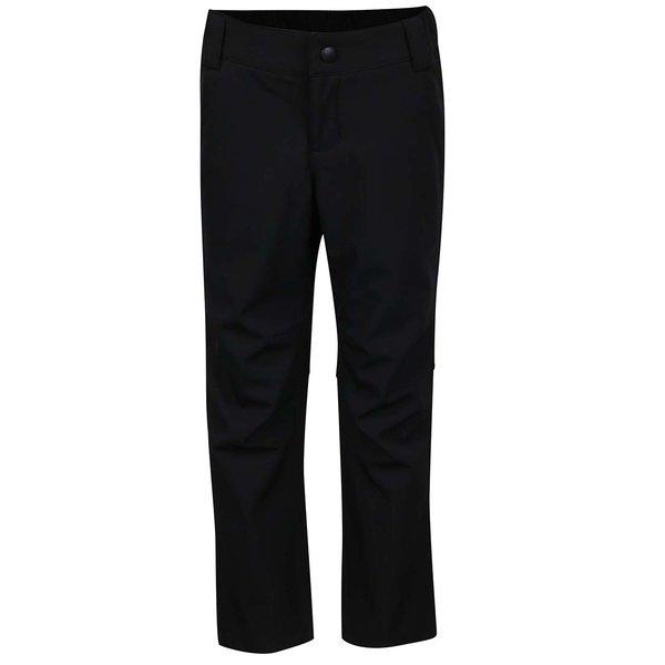 Pantaloni negri softshell Reima Anchor pentru fete