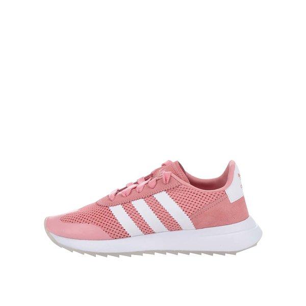 Pantofi sport roz adidas Originals Flashback pentru femei