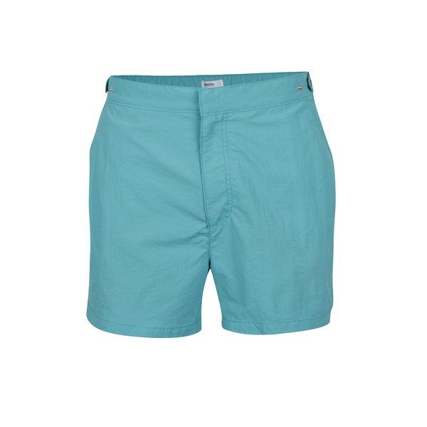Bermude de plajă turcoaz Burton Menswear London cu buzunare de la Burton Menswear London in categoria Lenjerie intimă, pijamale, șorturi de baie