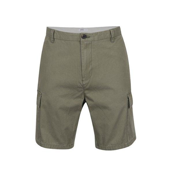 Pantaloni scurți cargo verde camuflaj Burton Menswear London cu buzunare de la Burton Menswear London in categoria Blugi, pantaloni, pantaloni scurți