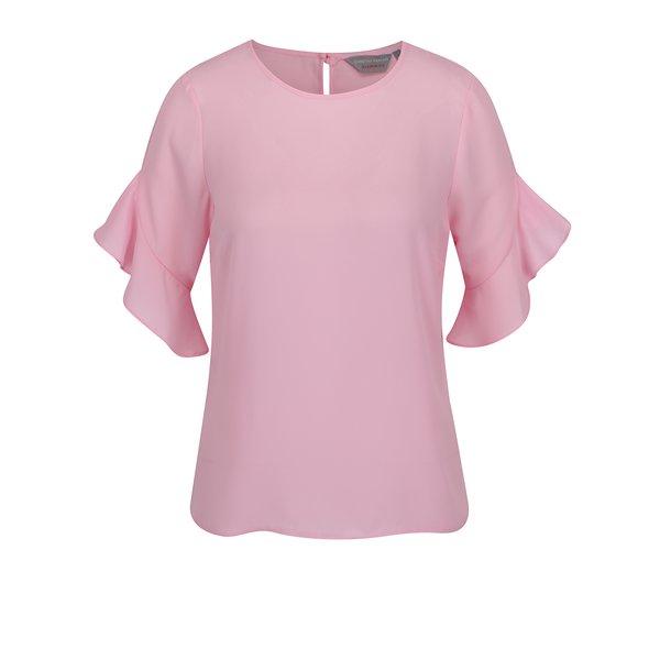 Bluză roz pal Dorothy Perkins Petite cu mâneci clopot de la Dorothy Perkins Petite in categoria Topuri, tricouri, body-uri