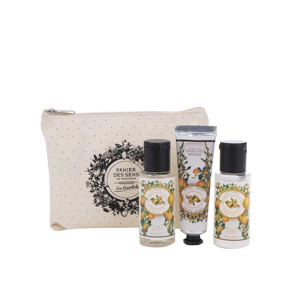 Set de cosmetice cu lapte de corp, gel de duș și cremă de mâini Panier des Sens Provence de la Panier des Sens in categoria Pentru baie