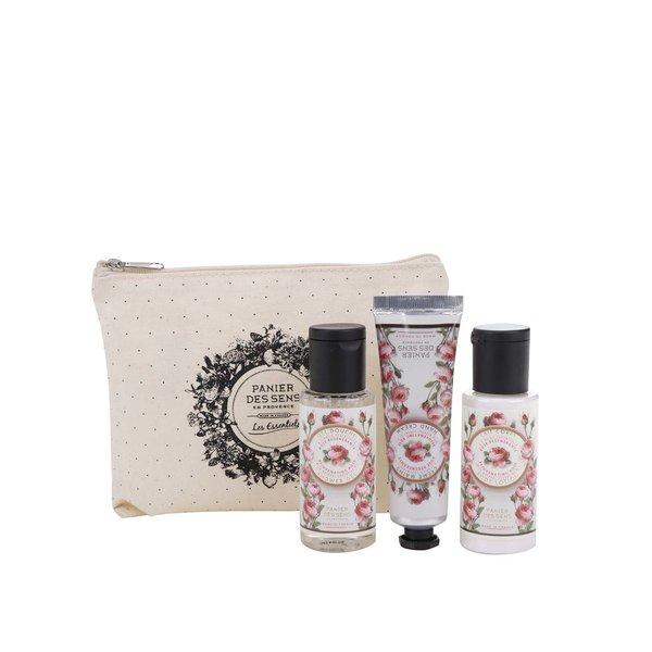 Set de cosmetice cu lapte de corp, gel de duș și cremă de mâini Panier des Sens de la Panier des Sens in categoria Pentru baie