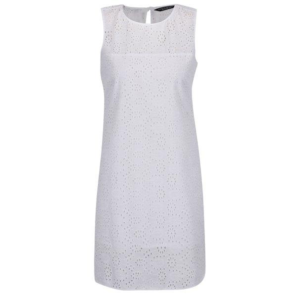 Rochie albă Dorothy Perkins cu model cu perforații de la Dorothy Perkins in categoria rochii casual