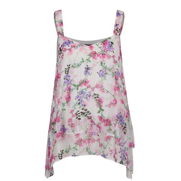 Top crem M&Co cu imprimeu floral de la M&Co in categoria Topuri, tricouri, body-uri