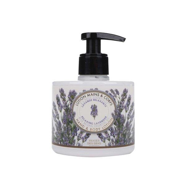 Loțiune pentru corp și mâini cu parfum de lavandă Panier des Sens Levanduľa de la Panier des Sens in categoria Pentru baie