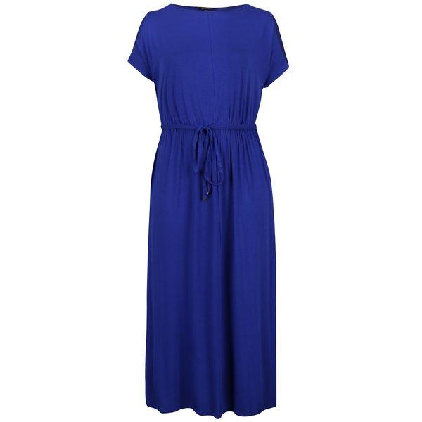 Rochie maxi albastră Dorothy Perkins Curve cu șnur în talie de la Dorothy Perkins Curve in categoria Mărimi curvy