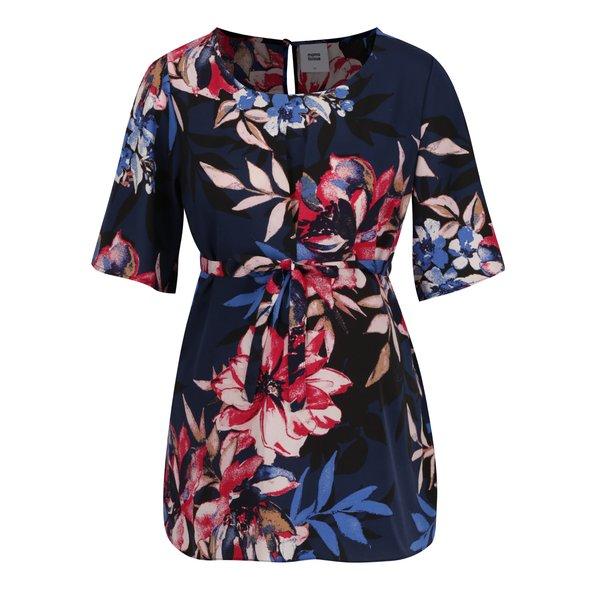 Bluză albastru închis Mama.licious Flay cu imprimeu floral de la Mama.licious in categoria FEMEI