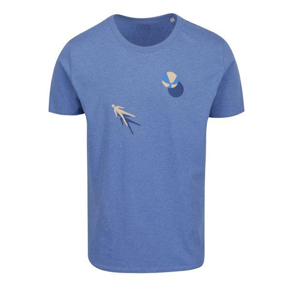 Tricou albastru cu print funny ZOOT Originál Pool fun