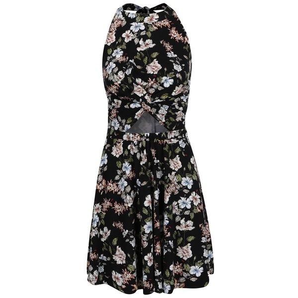 Rochie neagră Juicy Couture cu decupaje