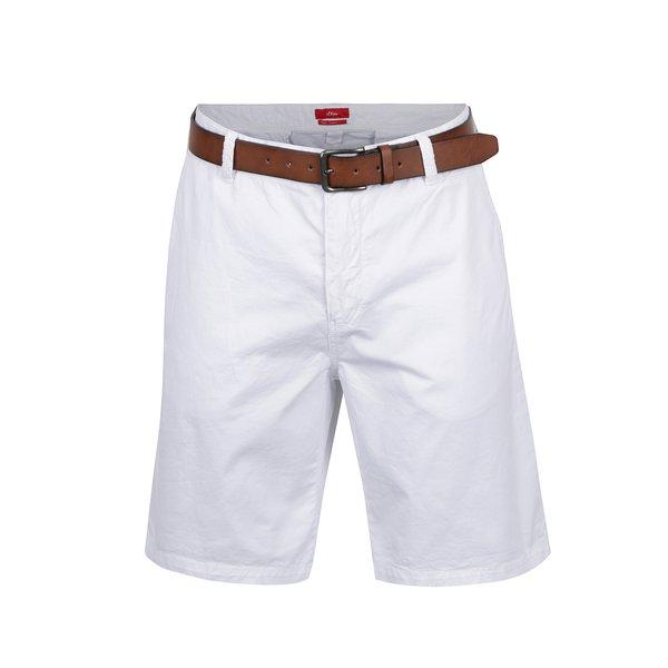 Pantaloni scurți chino albi s.Oliver de la s.Oliver in categoria Blugi, pantaloni, pantaloni scurți