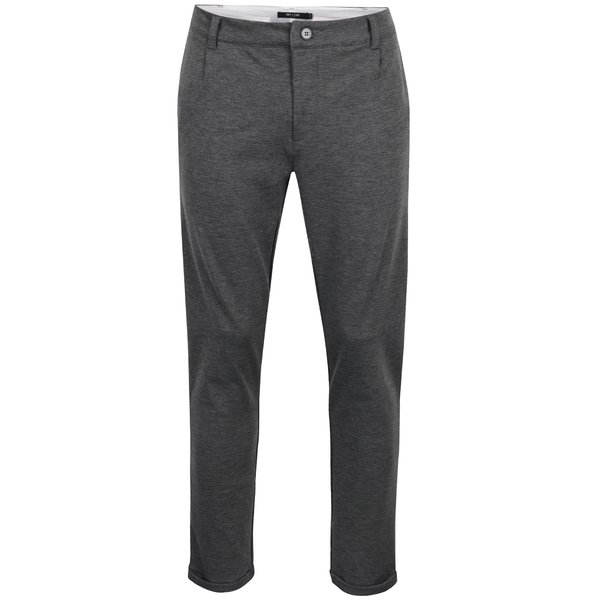 Pantaloni chino gri ONLY & SONS Solid