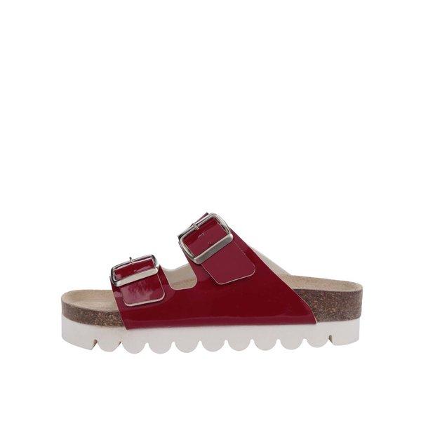 Papuci roșii Snaha Lima 160 cu talpă comodă de la SNAHA in categoria șlapin