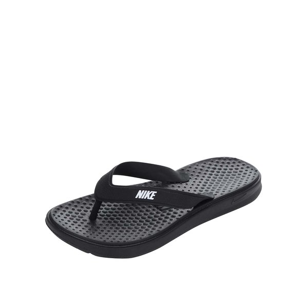 Șlapi negri de damă Nike Solay Thong de la Nike in categoria șlapin