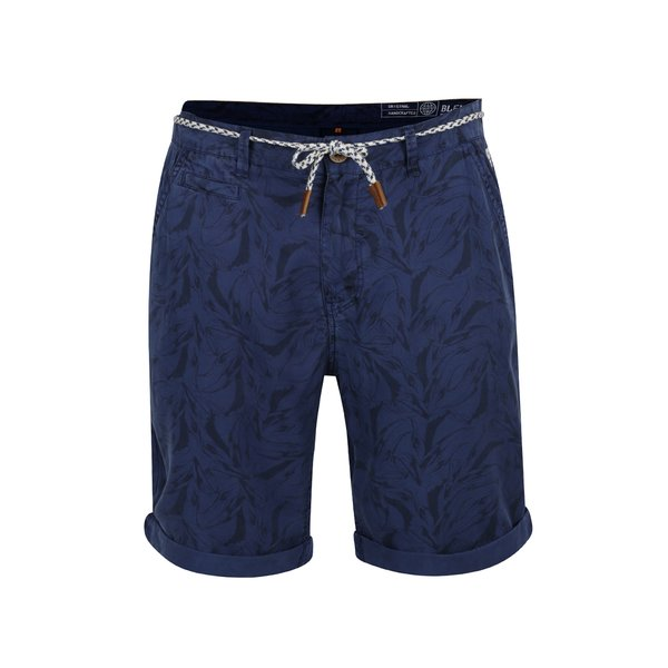 Pantaloni scurti bleumarin cu imprimeu Blend