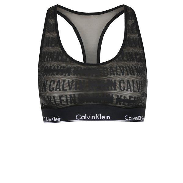 Bustiera neagra cu logo Calvin Klein de la Calvin Klein in categoria Lenjerie intimă, pijamale, costume de baie