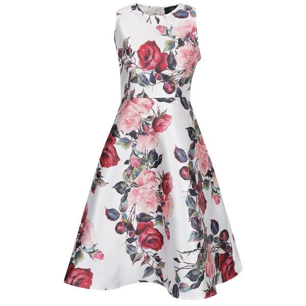 Rochie crem AX Paris cu imprimeu floral de la AX Paris in categoria rochii de seară