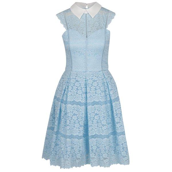 Rochie bleu Chi Chi London cu dantelă
