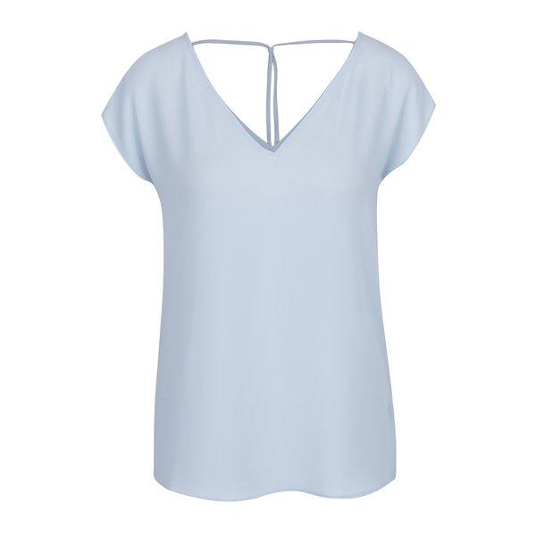 Tricou bleu cu bretele decorative ONLY Myrina de la ONLY in categoria tricouri