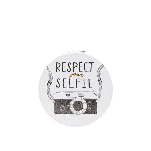 Oglidă crem de buzunar cu print CGB Respect de la CGB in categoria Pentru baie