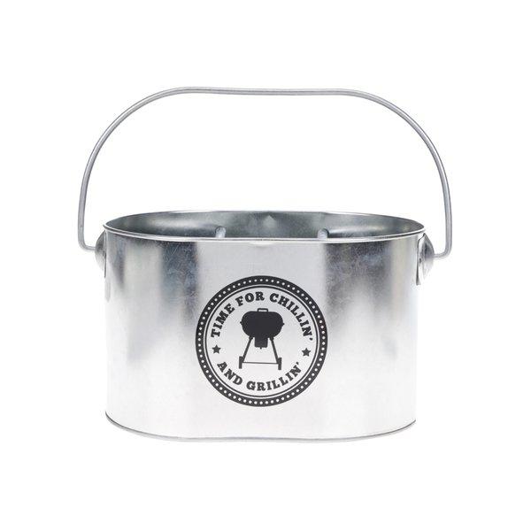 Găleată suport argintie pentru scticle CGB de la CGB in categoria Bucătăria