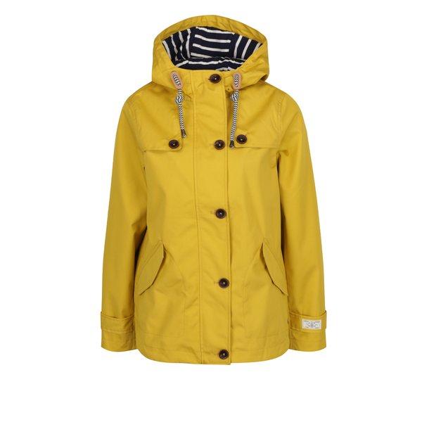 Jacheta galbena cu gluga și fermoar Tom Joule de la Tom Joule in categoria Geci, jachete și sacouri