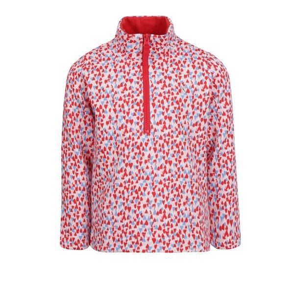 Bluză cu print multicolor si fermoar Tom Joule pentru fete de la Tom Joule in categoria Pulovere, hanorace