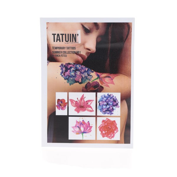 Set 5 tatuaje temporare Summer Collection No 1 TATUIN` de la TATUIN' in categoria Accesorii