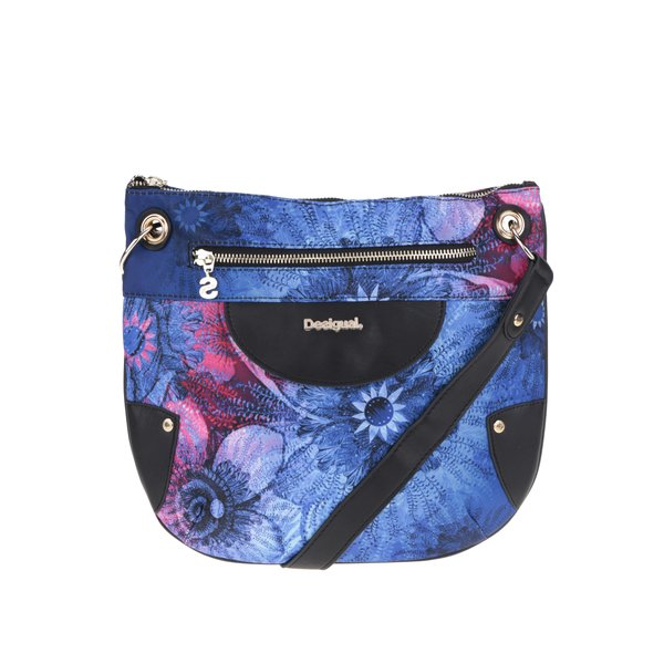 Geantă crossbody albastră Desigual Brooklyn Carlin