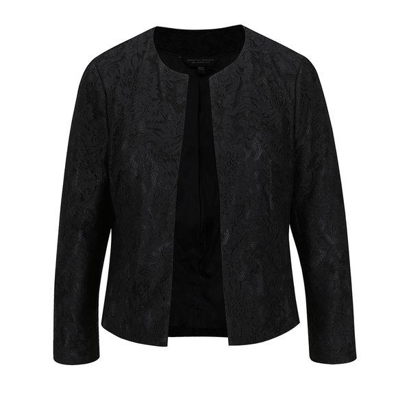 Jachetă neagră din dantelă Dorothy Perkins