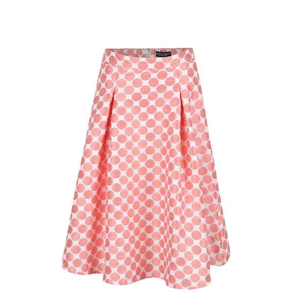 Fustă crem & roz Dorothy Perkins cu buline