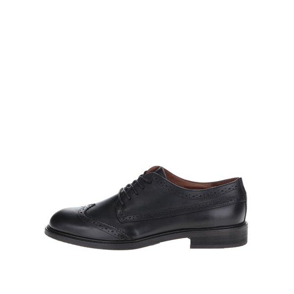 Pantofi Oxford negri Selected Homme Baxer din piele