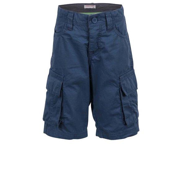 Bermude cargo albastre 5.10.15. pentru băieți