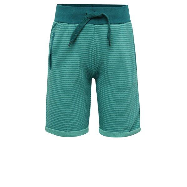 Pantaloni scurți verzi cu dungi pentru băieți name it Sonny de la name it in categoria Pantaloni, pantaloni scurți