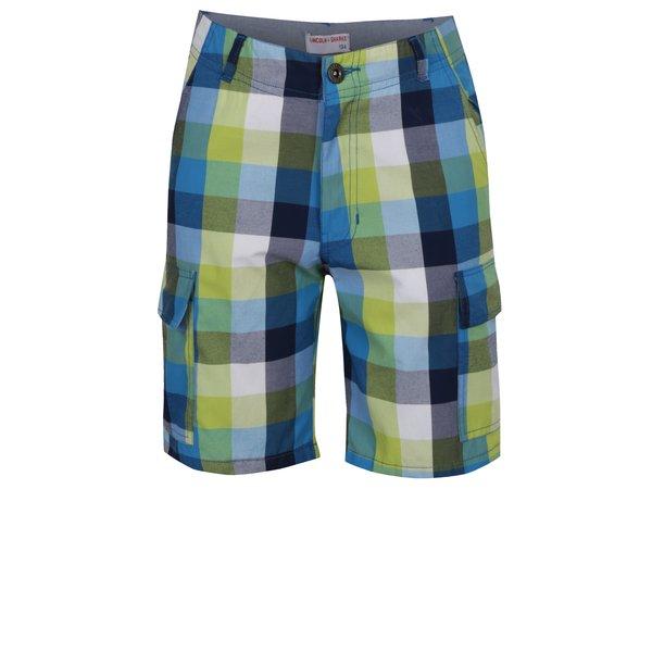 Bermude multicolore 5.10.15 cu model în carouri pentru băieți