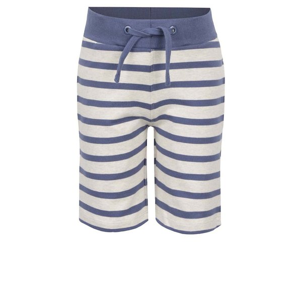 Bermude bej & albastru name it Iron cu model în dungi pentru băieți