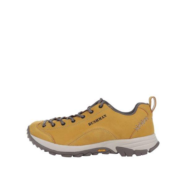 Pantofi sport galben muștar din piele BUSHMAN Cyrah de la BUSHMAN in categoria pantofi sport și teniși