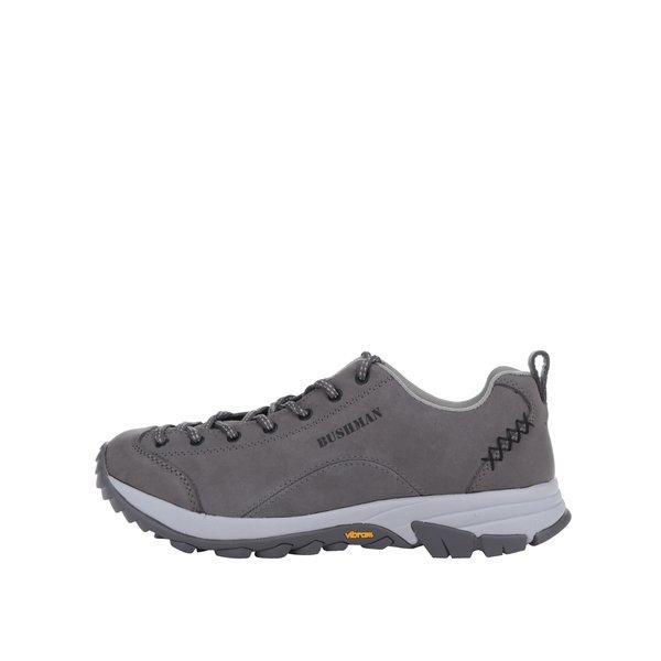 Pantofi sport gri din piele BUSHMAN Cyrah de la BUSHMAN in categoria pantofi sport și teniși