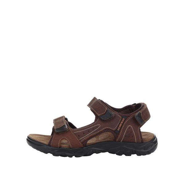 Sandale maron de piele BUSHMAN Antares de la BUSHMAN in categoria sandale și șlapi
