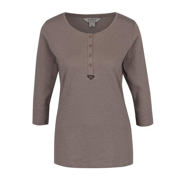 Bluză bej BUSHMAN Keela mâneci trei sferturi