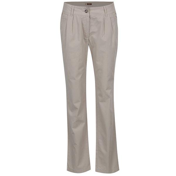 Pantaloni crem BUSHMAN Eunice de la BUSHMAN in categoria Blugi, pantaloni, colanți